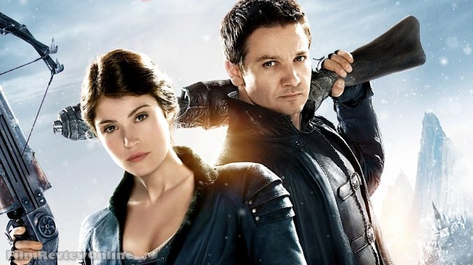 Hansel and Gretel: Witch Hunters - Poster: Gemma Arterton and Jeremy Renner