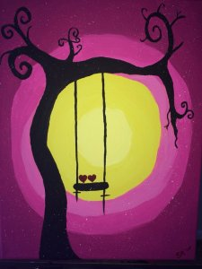 Pink Sunset Spooky swing for Laura Fisher 02.27.15