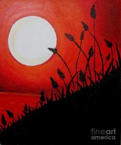 -acrylic-painting-acrylic-sunset-priyanka-rastogi